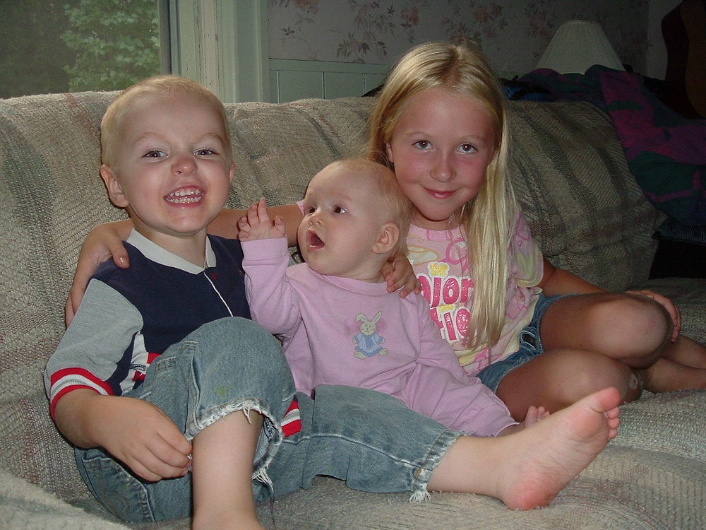 This has long been one of my favourite photos of my kiddos... circa 2005