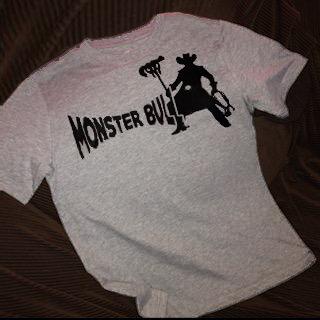 Monster Gamer T Shirt Monster Bull