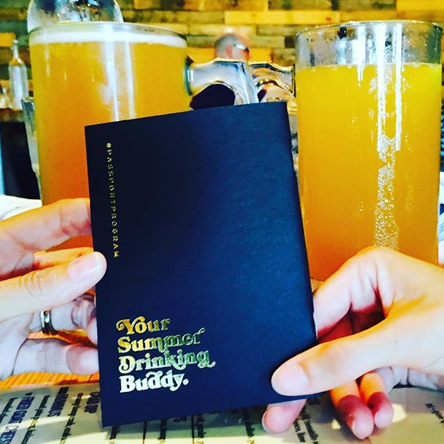 GIVEAWAY ALERT: Tag a summer drinking buddy below for a chance to win a #KC Passport. Enjoy 2-for-1 wine, beer, and cocktails all over the city!  Winner will be announced tonight 7/27 @ 6PM  #passportprogramkc #kansascity #happyhour #drinkingbuddies #summertime