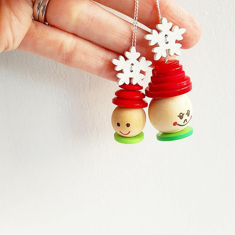 kiddie ornaments for your Christmas tree