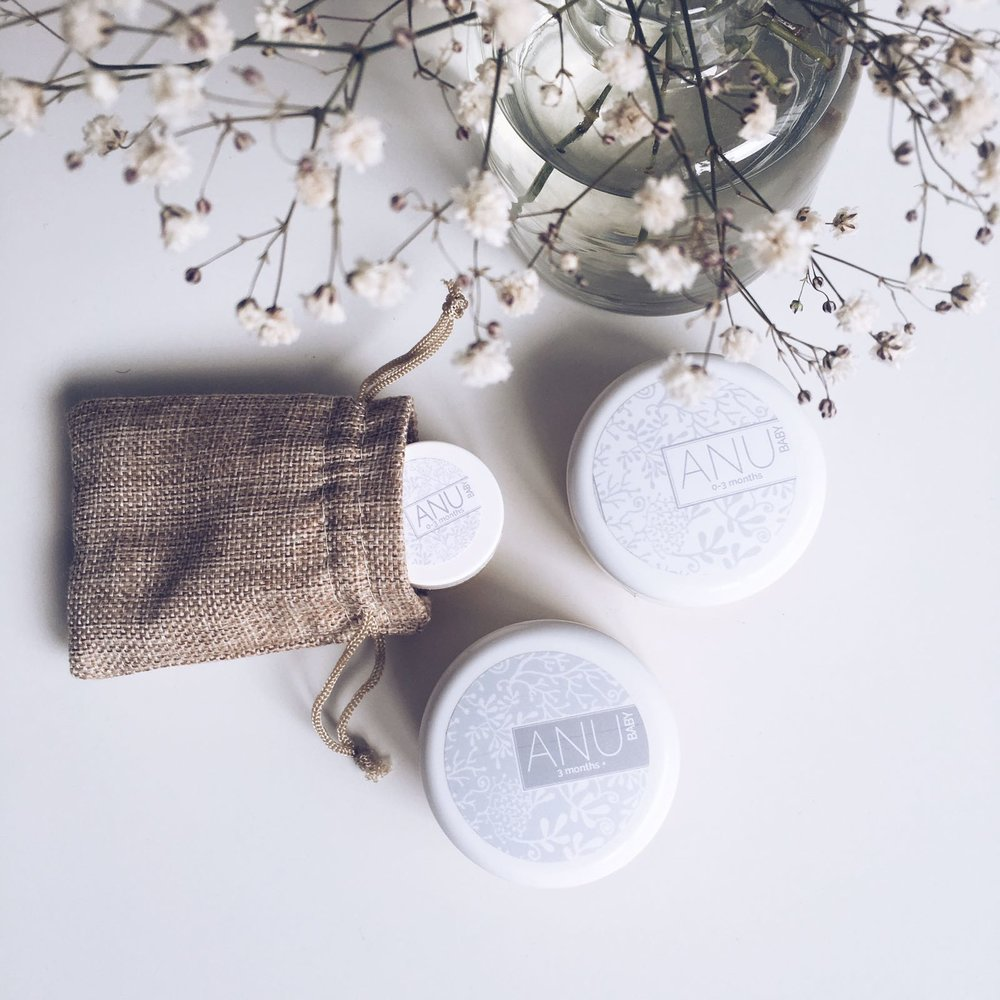 natural skincare items from Anu
