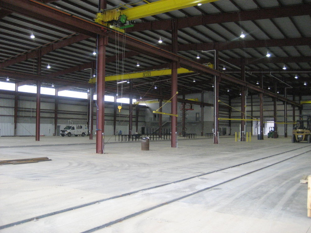 CM Steel - Fabrication - 76,000 Square Feet Fabrications - 8,000 Square Feet Office - Completed 2009