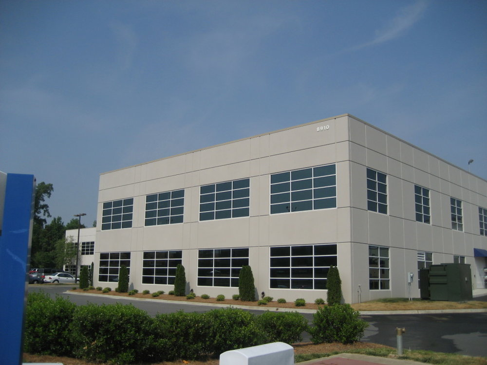 Peak 10 Data Center Expansion - 2 Stories - 12,800 Square Feet - Completed 2006