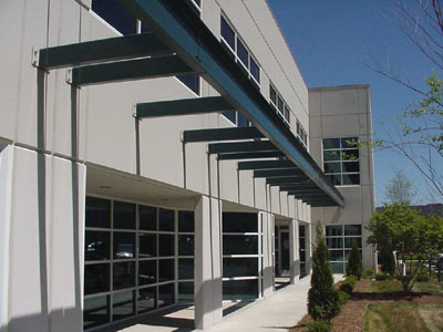 Peak 10 Data Center - 2 Stories - 26,500 Square Feet - Completed 2001