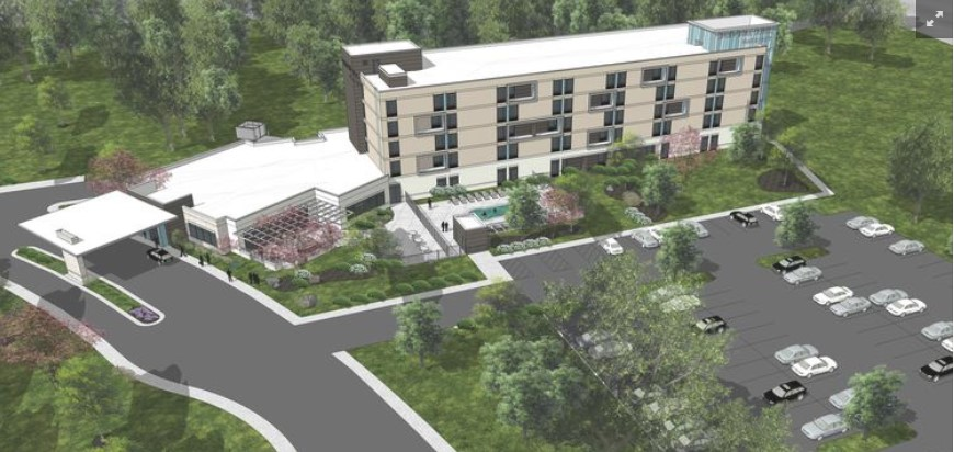 Springhill Suites Carowinds - Charlotte, NC - 5 stories - 130 Rooms - Completion 2019