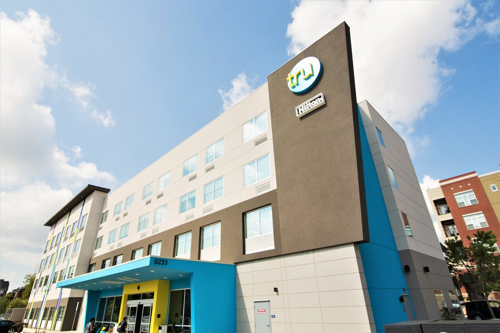TRU by Hilton - Charlotte, NC - 4 Stories - 98 Rooms - Completion 2018