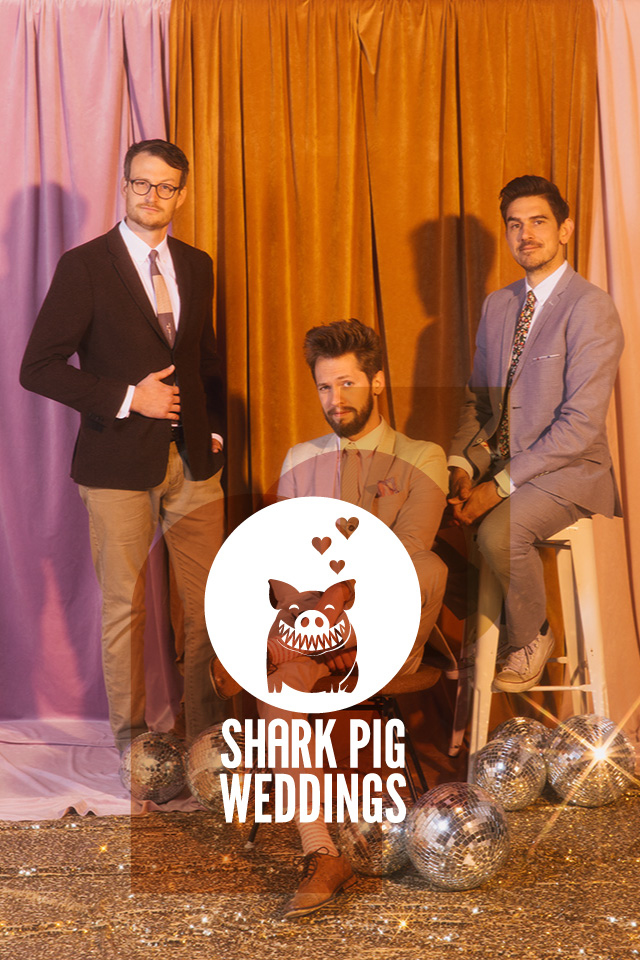 shark pig weddings
