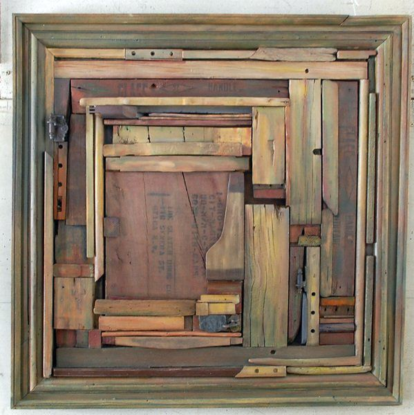 Abstraction in the Valley by Robin Caudell - Corscaden Barn Gallery's seasonal opener highlights works of six artists