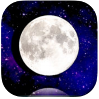 Moon+  (for iPhone and iPad) - while basic in overall display, Moon+ provides comprehensive information on our lunar neighbor. The app details both current day moon rise and set along with phase, illumination distance and a forecast of past and future phases. $0.99