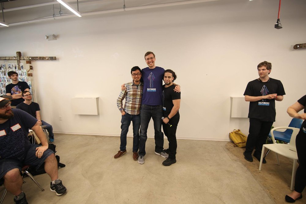 Michael An, Matthew Stubenberg, Sal Hernandez (Organizer)