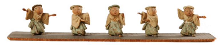 """Suzume odori"" (""Sparrow Dance""): Grandson of Tadashi Takahashi, ca. 1804-1818."