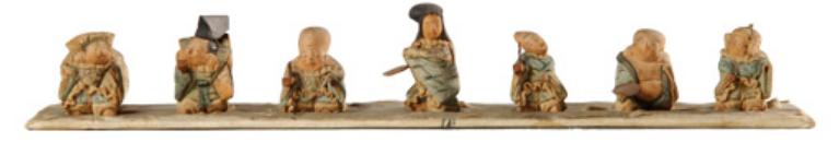 """""""Shichifukujin"""" (""""Seven Lucky Gods""""): Tadashi Takashashi, ca. 1736-1741."""