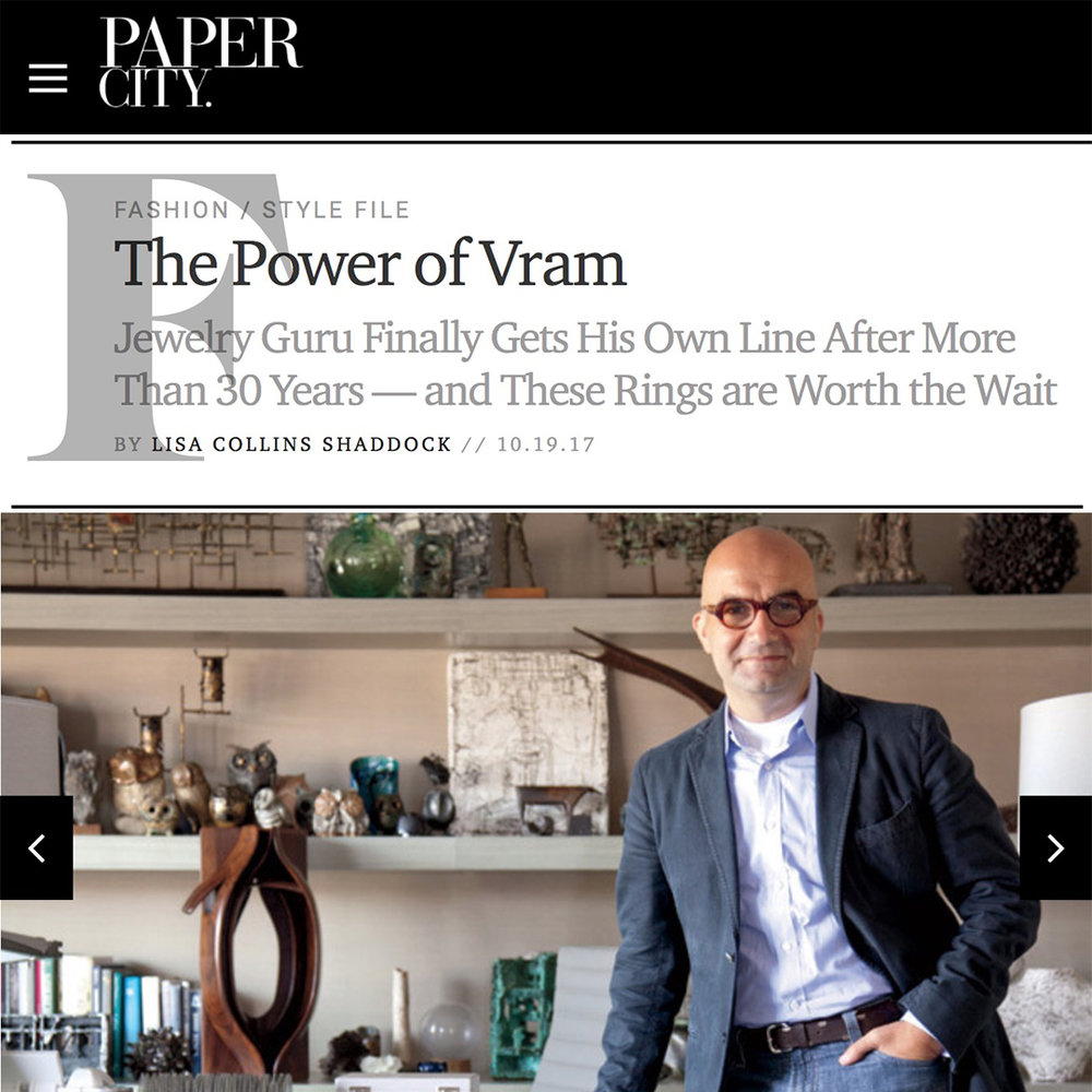VRAM Paper City Magazine Power of VRAM Jewelry.jpg