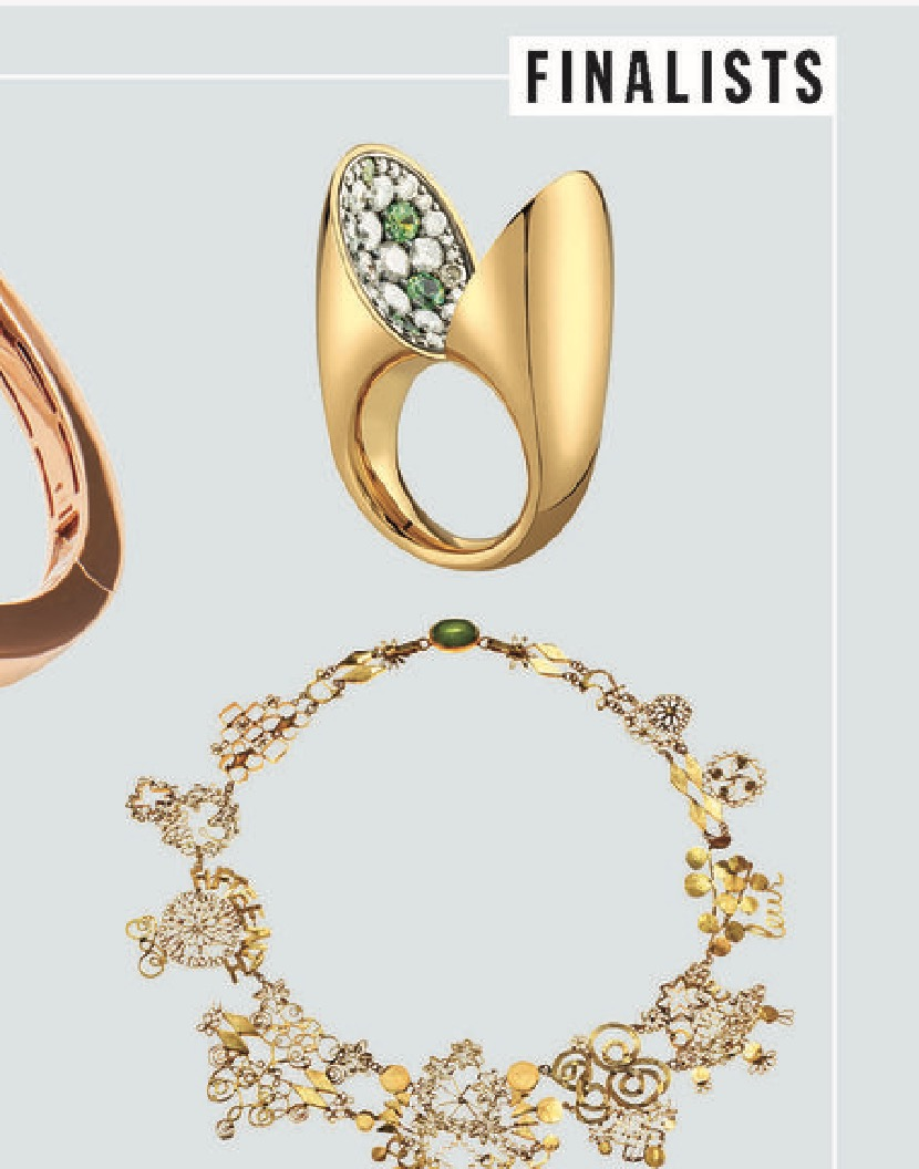 VRAM JEWELRY ECHO RING TOWN AND COUNTRY JEWELRY AWARDS 2019