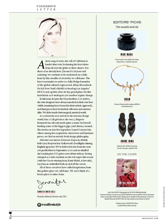 VRAM C Magazine Editor Pick Chrona Necklace