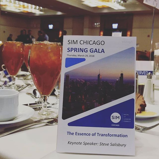 SIM Chicago Spring Gala 2018  #networking #community
