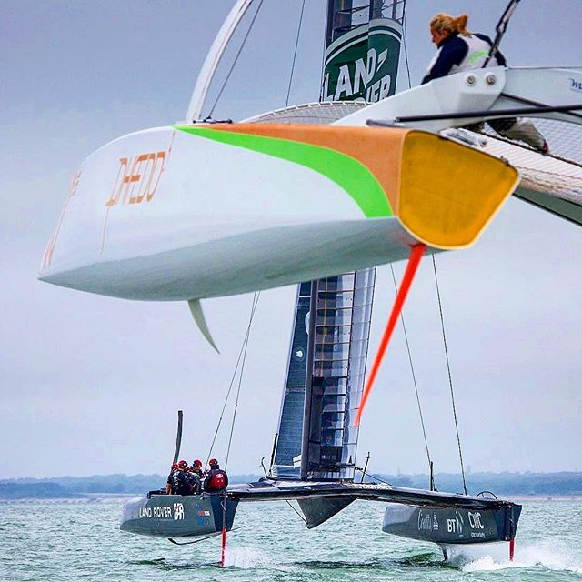 Flying machines #freaksail #flyingboats #foiling #sailingpassion #sailinstagram #flyingcatamaran #flyingphantom #instasailing #sail #boat #sailingphotography #ropeye #ropeyerevolution