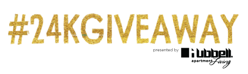 24K Giveaway - Hubbell Apartments