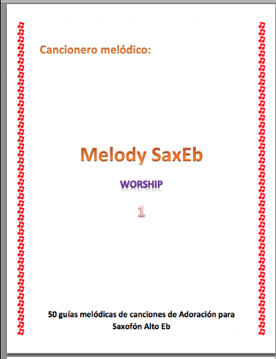 Spanish and English Worship Sheet Music Book