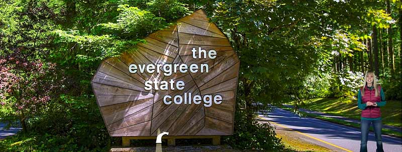 Evergreen State College was the School Will went to. http://evergreen.edu/tour