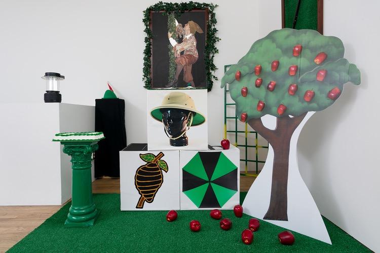 An example of Jon Clark's Art Exhibition Work.