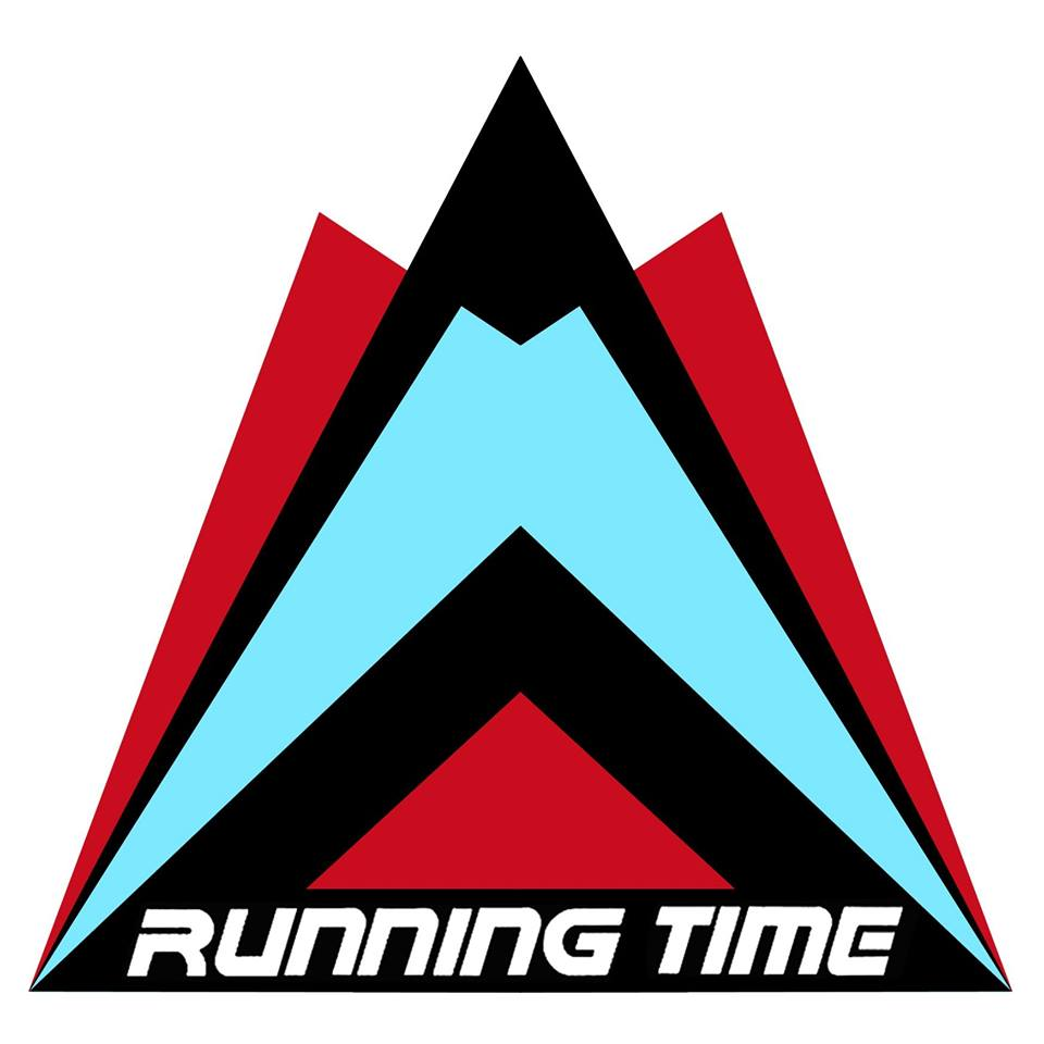 "The Logo for ""Running Time"" (Marc's Company)."