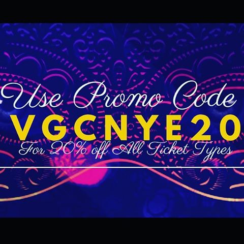 LAST CALL!! Use promo code: VGCNYE20 for 20% off ALL @vulcanatx #NYE Ticket types! ***link in bio*** @jhampell.musica #NYE