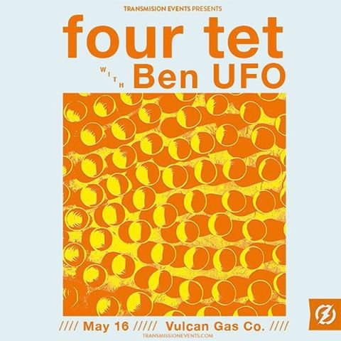 @FourTet | @vulcanatx | May 16 | On sale now at: buff.ly/23ZxTSu