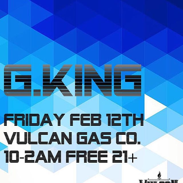 #Repost @gkingatx ・・・ Tonight I'll be Djing @vulcanatx for the first of my Friday's in February!  Doing a mix of all genres for this one.  I start at 10 and will be on the decks all night!  Free entry  21+