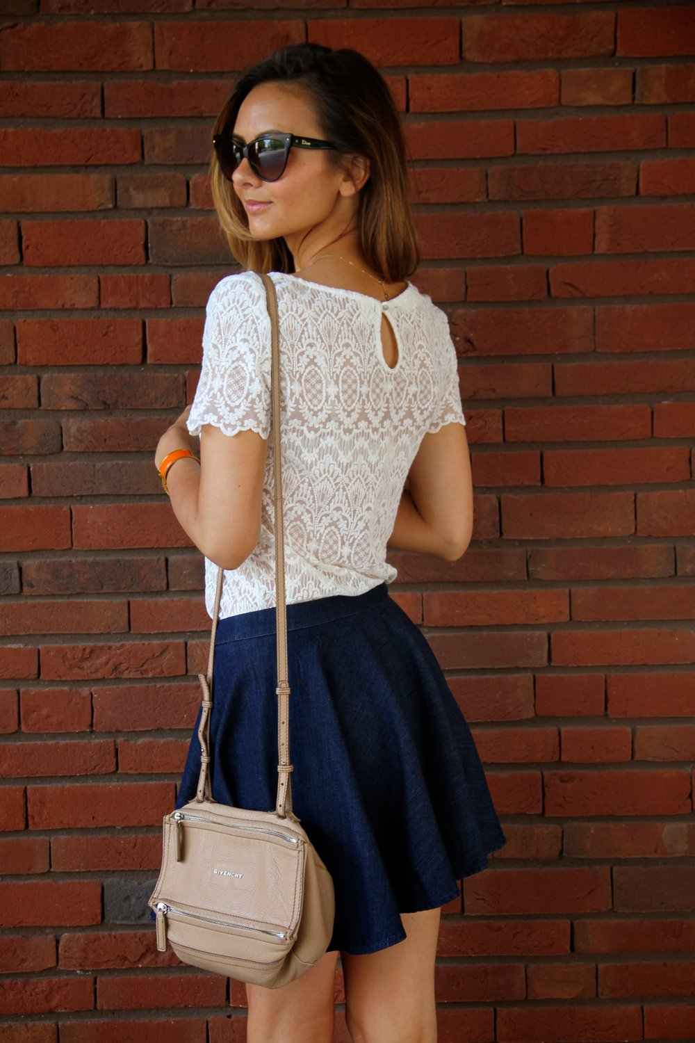 Denim & Lace - Back