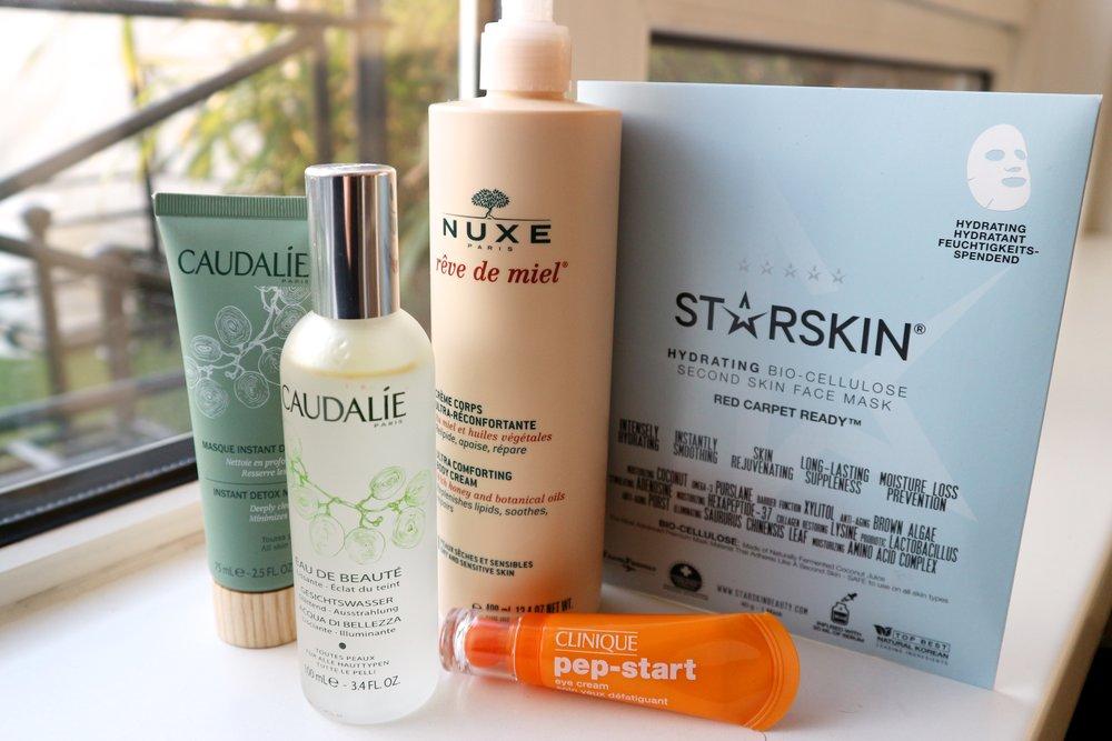 skincare caudalie clinique starskin nuxe