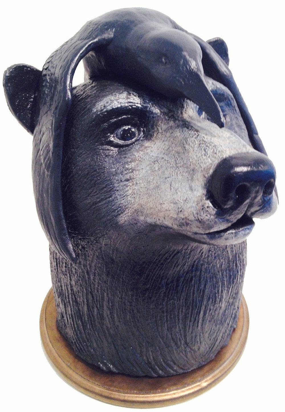 Blind Black Bear Michael Logozzo