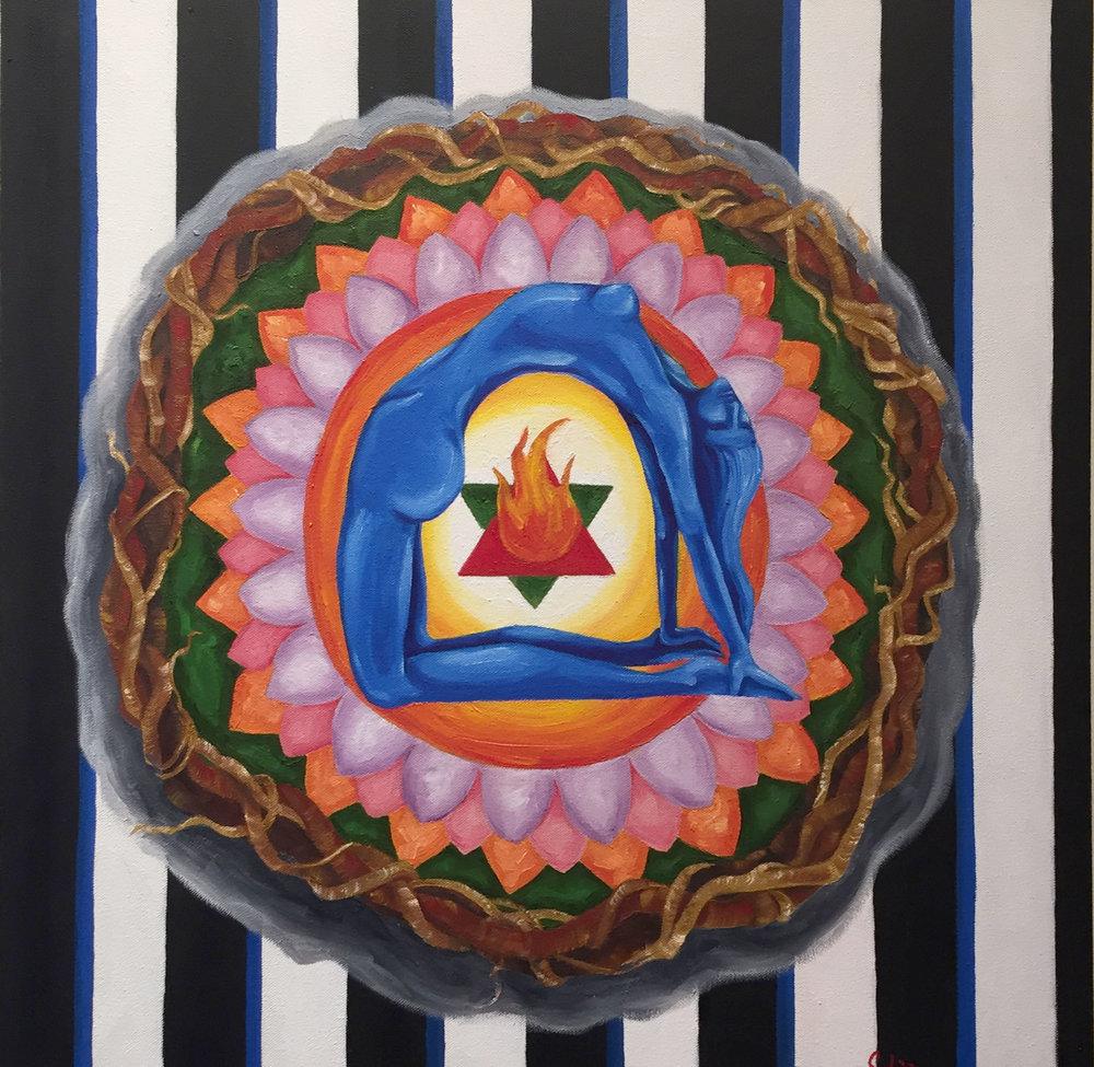 Mandala- Essance of Life.  Sobia Shuaib.jpg
