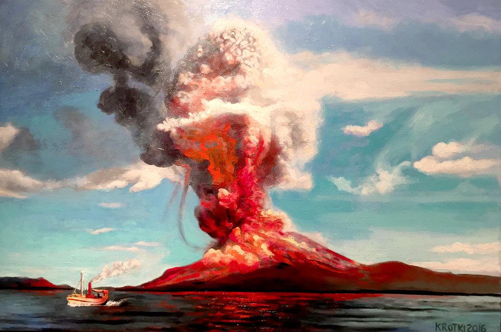Clear Skys Over Krakatoa Saul Krotki.jpg