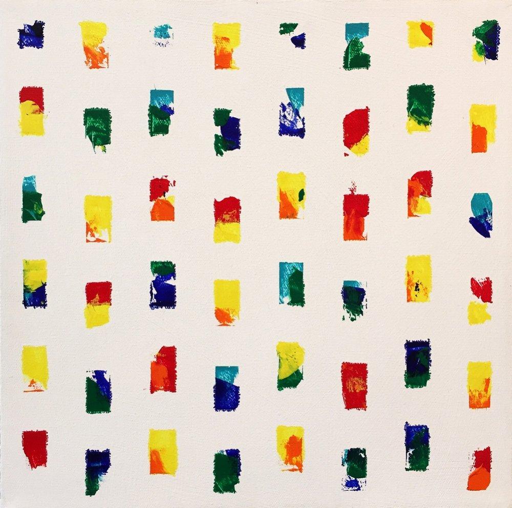 Thin Crowd James Burns acrylic on canavs 12 x 12.jpg