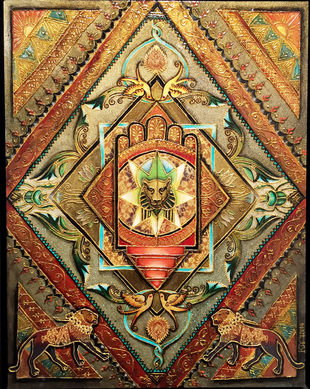Sekhmet's Mandala     Kree Arvanitas