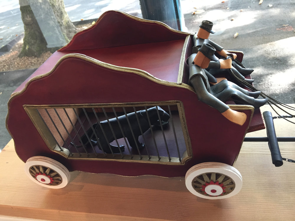 Circus Wagon   (detail 1)