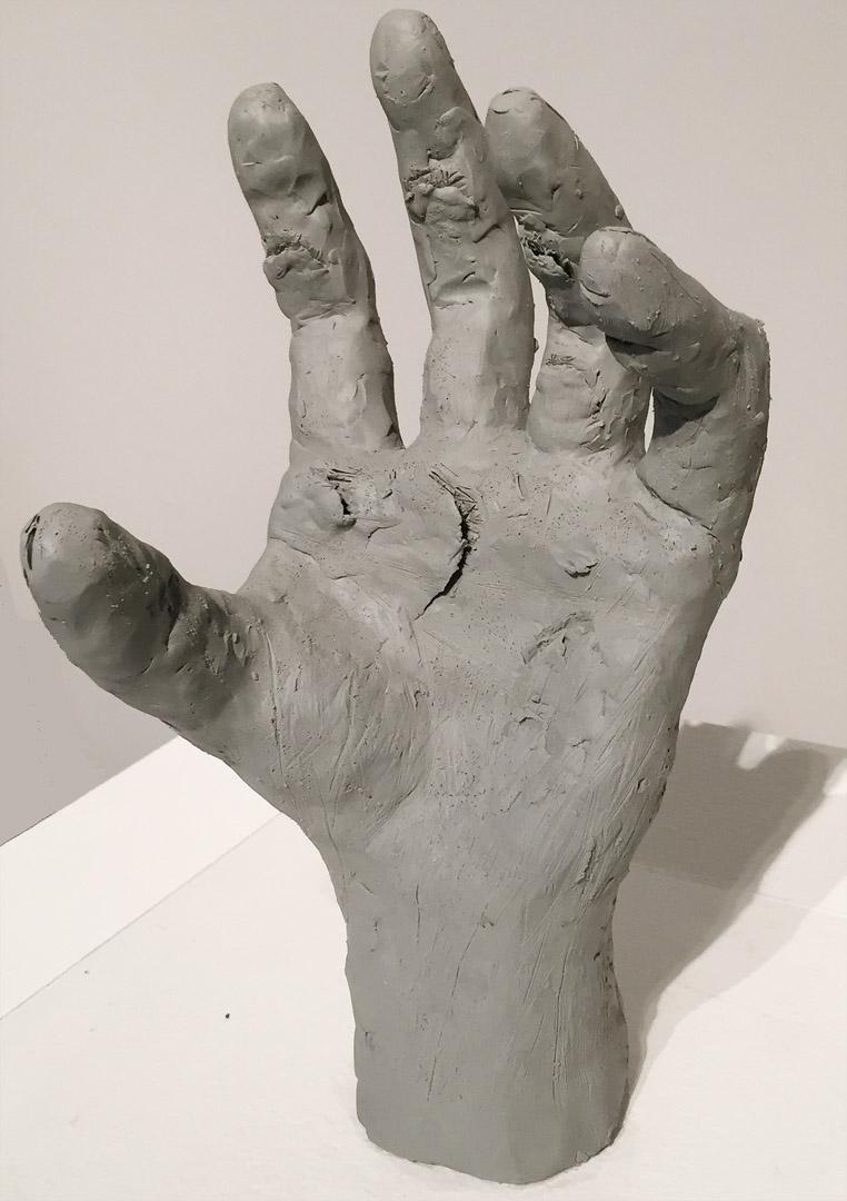Hand Sculpture (alternate view)   Kiyu Fukagawa