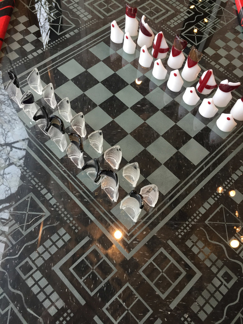Chess Table and Chess Set Elizibeth Atly.JPG