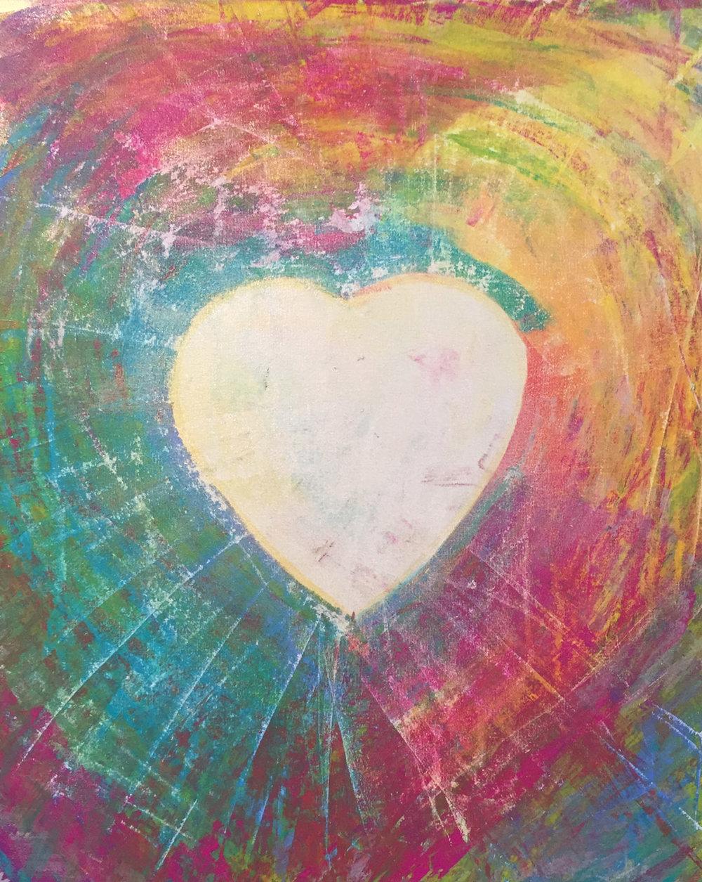 Love Radiates   Kalya Cabe