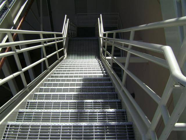 Awesome Industrial Staircase