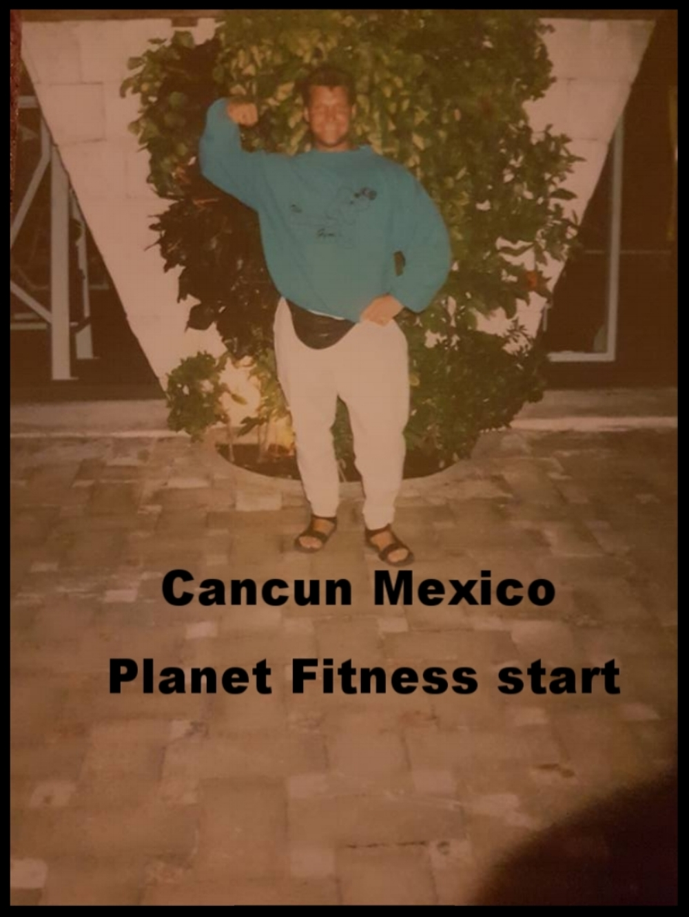 The  idea for  Planet Fitnes s /  Planet Hollywood .