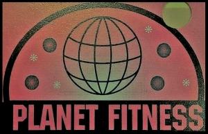 Planet Fitness logo 1990's