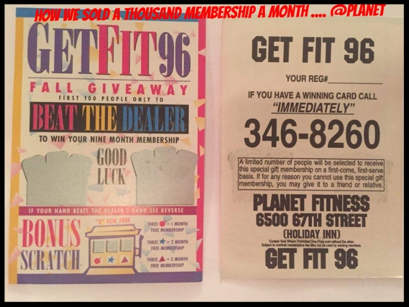 Planet Fitness would mail out through Canada Post over 1000, 000 promotional items each year ... with hundreds of different promotions here are just a few that rocked in the day! Things were very different back then and Canada post direct mail was by far the best way to reach thousands of people very fast~ It was a huge cost to use but always proved to work amazing well ~ Today you can just hit a button on your computer and do the same ... Marketing sure has changed over the years! We still do use mails outs on Special occasions...but 90% of everything today is done Online ~ It's a new generation of marketing & business ~ You can reach out to any area, age group or City ... And no more printing bills! Or carrying huge boxes each week into Canada post office... also saves a few trees along the way!