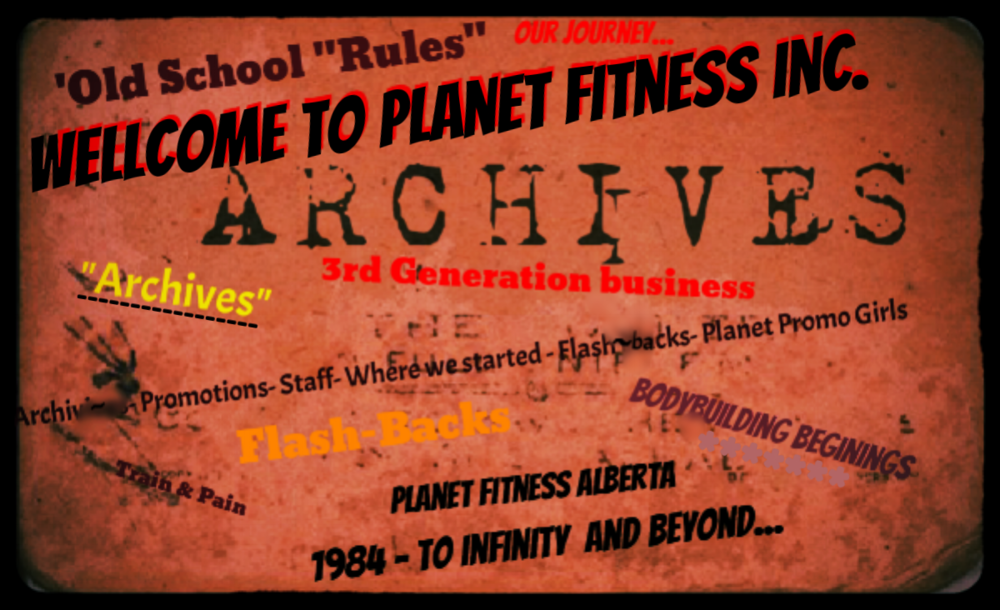 "Enjoy the Flash back and the Journey of ""PLANET FITNESS"""