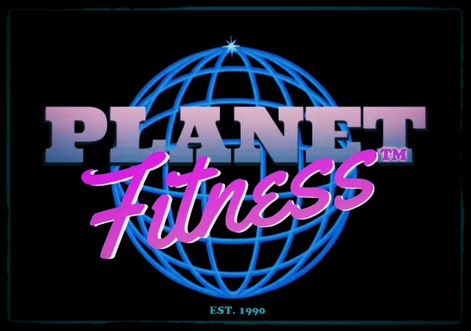 Planet Fitness Purple logos