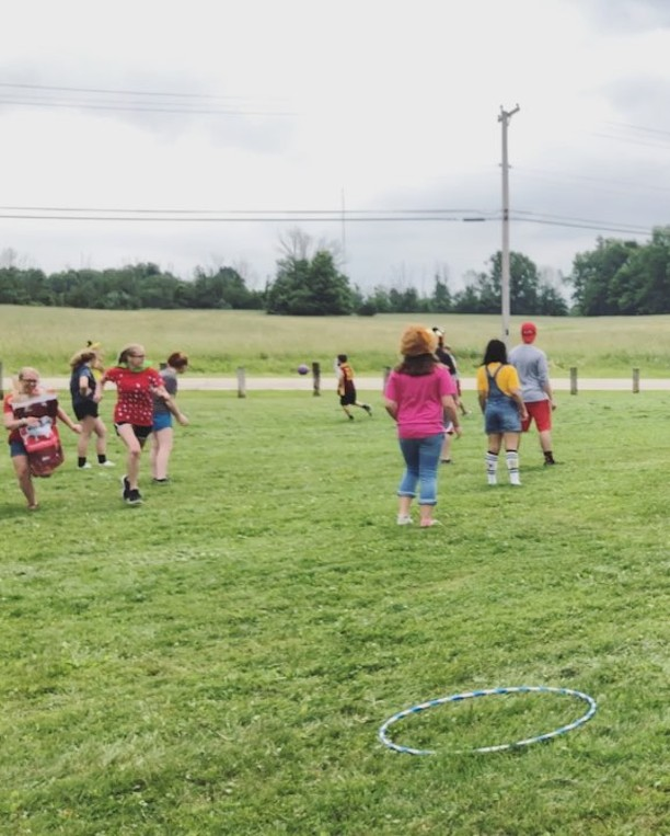 Kostume Kickball was a riot & a great way to welcome the new Student Ministry staff Ross & Ryan!
