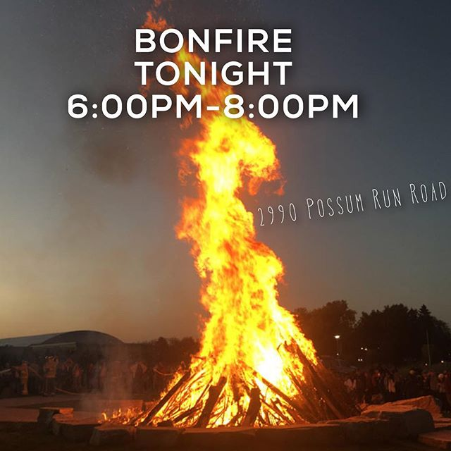 Tonight is the night! 6:00pm-8:00pm 2990 Possum Run Road. Bring a dish to share and a chair!