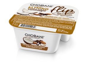 Chobani's new Flip line pairs their greek yogurts with a variety of toppings