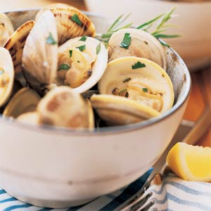 Clams and Mussels en Escabeche
